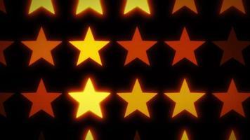 fond abstrait étoiles brillantes video