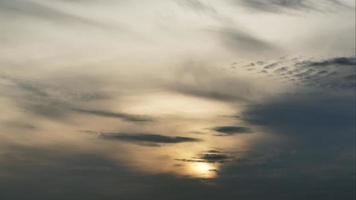 Zeitraffer des Sonnenaufgangs
