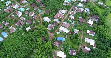 Luftbild Landschaft von Thailand. video