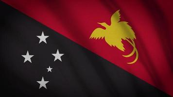 drapeau papouasie-nouvelle-guinée video