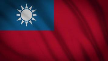 drapeau de Taiwan video