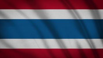 drapeau de la Thaïlande video