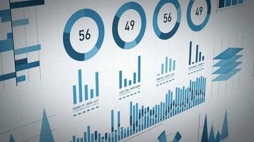statistiche aziendali, dati di mercato e layout di infografiche
