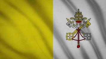 Stadtflagge des Vatikans
