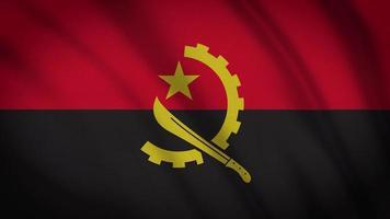 Angola Flaggen