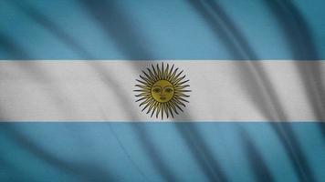 drapeau argentine video