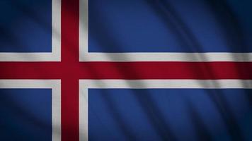 bandera de islandia video