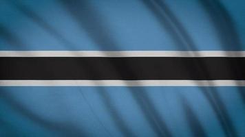 bandeira do botswana