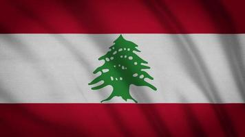drapeau liban video