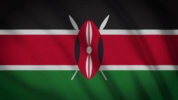 drapeau kenya video