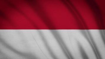 Indonesien Flagge