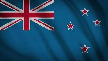 bandera de nueva zelanda video
