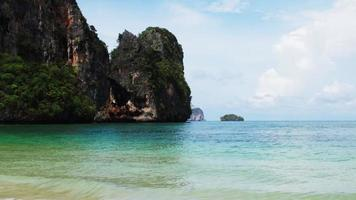 B-Roll of Krabi beach sea in Thailand. video