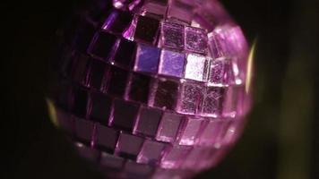 boule disco miroir rotatif