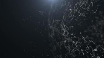 conexão de esfera de linha de terra, partícula de terra, terra no fundo do espaço