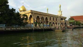 Mesquita de Ridwanool Islã em Banguecoque, Tailândia