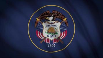 bandiera dello stato dell'utah