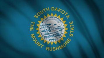 bandeira do estado da Dakota do Sul