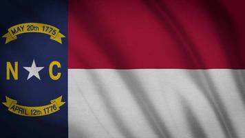 North Carolina Staatsflagge