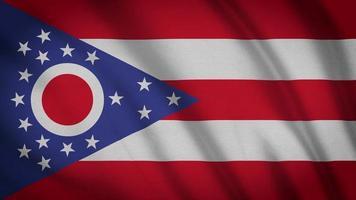 Ohio Staatsflagge