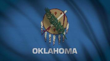 bandiera dello stato dell'Oklahoma