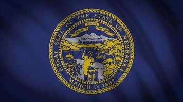 bandeira do estado de nebraska