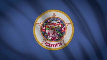 bandeira do estado de minnesota