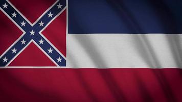 bandera del estado de mississippi