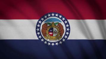 bandera del estado de missouri