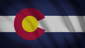 bandeira do estado do colorado