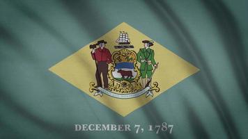 bandeira do estado delaware