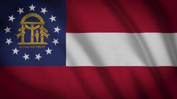 bandeira do estado da georgia