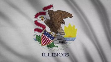 bandeira do estado de Illinois
