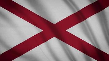 bandera del estado de alabama
