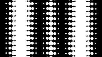 bucle dinámico en blanco y negro video