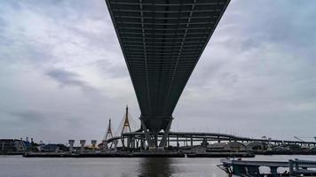 puente bhumibol, río chao phraya