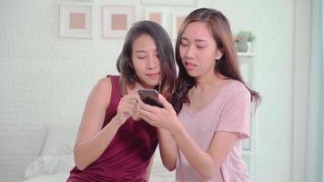 Young Asian women using a smartphone