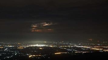Lightning over Phu Tubberk, Phetchabun, Thailand