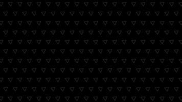 padrões de triângulo preto