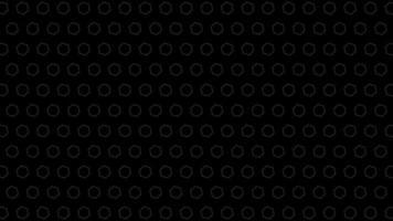 patrones hexagonales negros