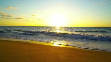 Sunset On the Beach video