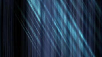 raggi di luce blu tremolano e brillano