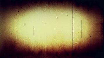 filme fx1051 - contagem regressiva do líder do filme com poeira e arranhões