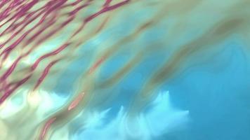 el fluido forma ondulación y flujo video