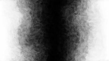 transição de tinta preta gerada por computador video