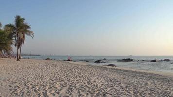praia em hua hin na tailândia video