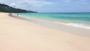 océano de playa tropical