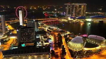 Singapur de noche video