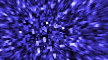 Hintergrund der blauen Quadrate 4k video