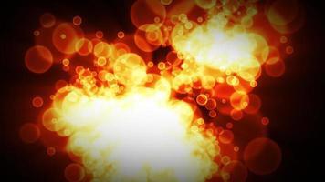 bokeh abstrato padrões de fundo estroboscópico video